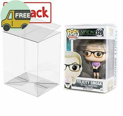 """PLAYOLY Pop Protector Case for Funko - 4"""" Inch Pop! Vinyl Figures, Strong P"""