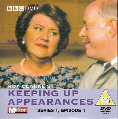 Keeping Up Appearances Series 1 Episode 1 (1990) Promo Dvd / Patricia Routledge