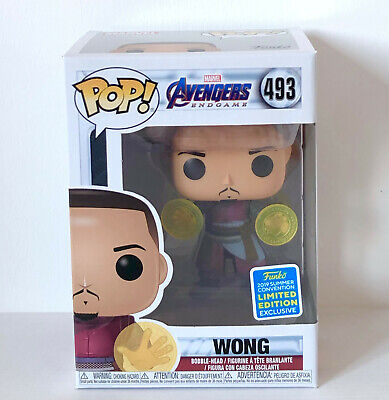 Funko Pop Sdcc 2019 Wong (493) Exclusive Special Edition Avengers Endgame Marvel