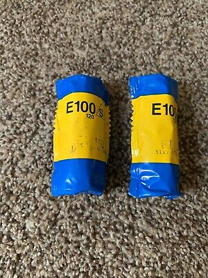 Kodak Ektachrome E100 S 120 Film 2 rolls Expired 08/1998