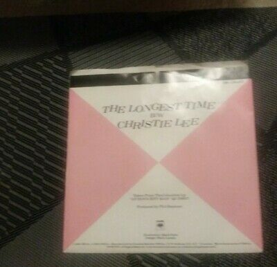 45 Rpm Record BILLY JOEL- CHRISTIE LEE/THE LONGEST TIME