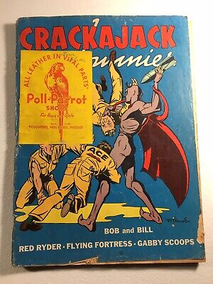 Crackajack Funnies Volume 1, #35 Comic Book, The Owl, Don Winslow Golden Age