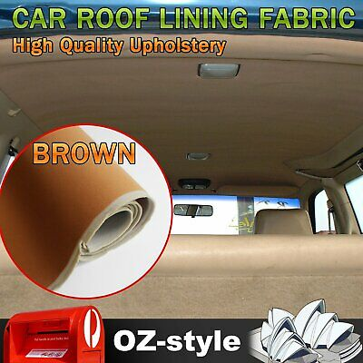 Upholstery Foam Headliner Fabric Sponge Cloth Restore Auto Roof Ceiling Lining