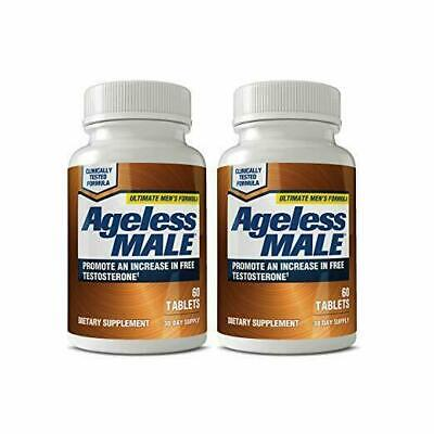 2 Pack New Vitality Ageless Male 60 x 2 = 120 Tablets Exp: 2021