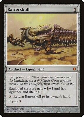 MTG Magic The Gathering - Batterskull Artifact 	New Phyrexia M/NM