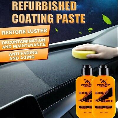 Automotive Car Interior Auto & Leather Renovated Coating Paste Maintenance Agent