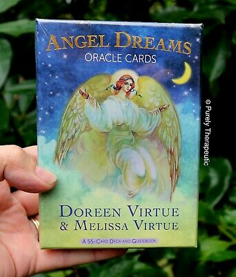 ANGEL DREAMS ORACLE CARDS DOREEN VIRTUE & MELISSA VIRTUE With Guidebook Boxed