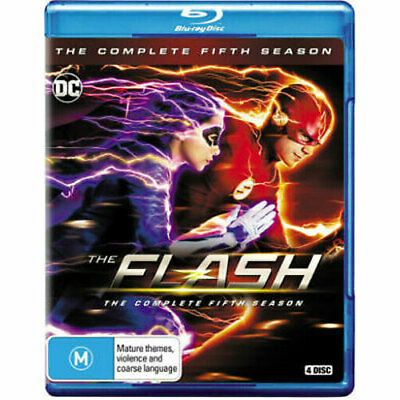The Flash (2014): Season 5 BLU-RAY NEW
