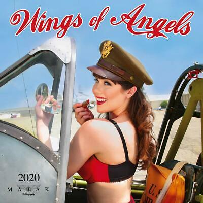 Wings of Angels - 2020 WALL CALENDAR - BRAND NEW - 184235
