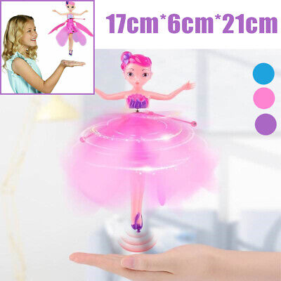 Kids Flying Fairy Toy Princess Dolls Magic Infrared Induction Control Xmas Gift❤