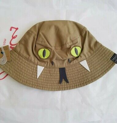 Joules Junior Boys Snake Sun Hat Size Age 8 - 12 years.