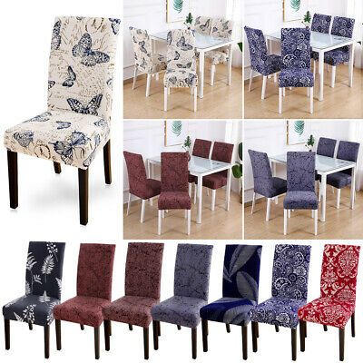 Stretch Dining Chair Cover Removable Slipcover Washable Banquet Seat Covers AU
