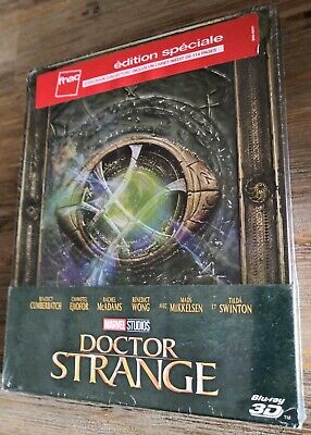 Doctor strange blu-ray+blu-ray 3D steelbook collector edition speciale fnac neuf