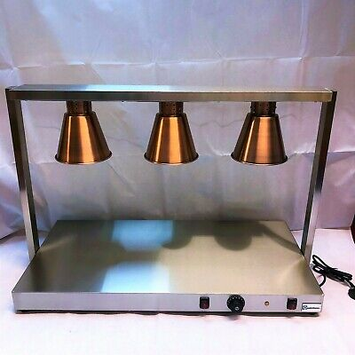 Quantum CE ® Heated Carvery Display Hot Plate Copper Gantry 1065mm wide KSL-CD3