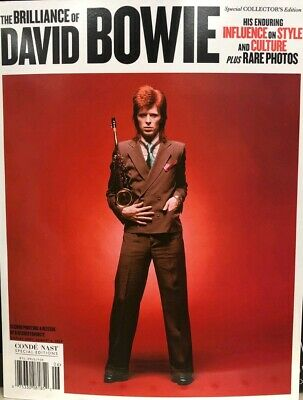 CONDE NAST SPECIAL THE BRILLIANCE OF DAVID BOWIE 2019 rolling life stone