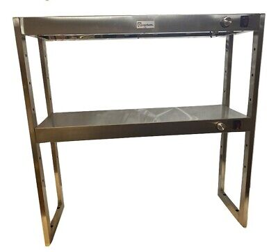 Heated Gantry Two Tier Both Heated Chef Pass 1210mm Wide 4 Foot