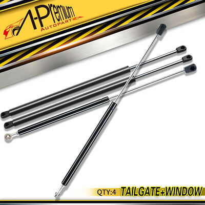 A-premium 6x Hood+Rear Window+Tailgate Lift Supports for Ford Expedition 97-2002
