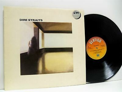DIRE STRAITS self titled LP VG+/VG+ 9102 021, vinyl, album, with lyric inner, uk