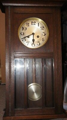 Old Antique Vintage Pendulum Wall Clock