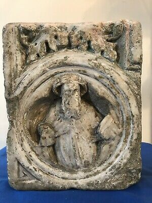 Ancient Roman Relief Sculpture Ancient Near East Saint Holy Figure Acanthus