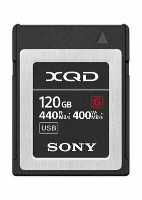 Genuine Sony G Series 120GB XQD Memory Card 440MB/s (UK Stock) BNIP