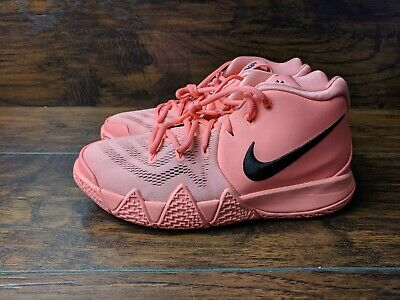 new product 9d2cb ef915 NIKE KYRIE 4 GS Youth Size 6Y Atomic Pink AA2897-601 Basketball Irving