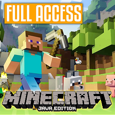 Minecraft Premium PC ✅ [Java Edition] Full Access ✅ Email&Pass Change +Warranty
