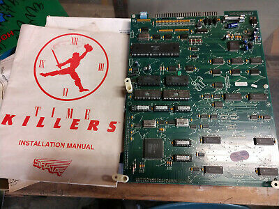 time killers arcade pcb with manuals