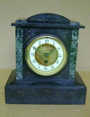 Antique Slate Mantel Clock.