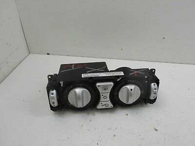 2004 Chrysler Crossfire Climate Heater Control Panel Unit 1938300085