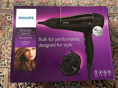 Hairdryer Philips DryCare BHD176 2200W Philips - Fitted EU Plug