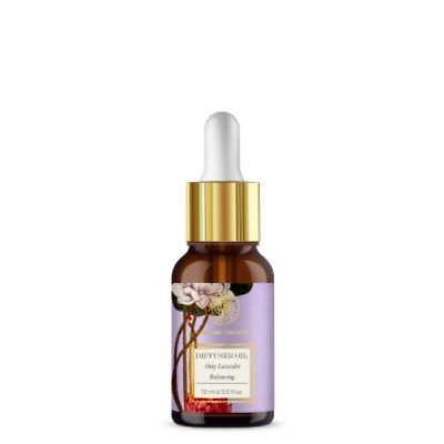 Ayurvedic Forest Essentials Blended Essential Oil Ooty Lavender 15ml Free Ship