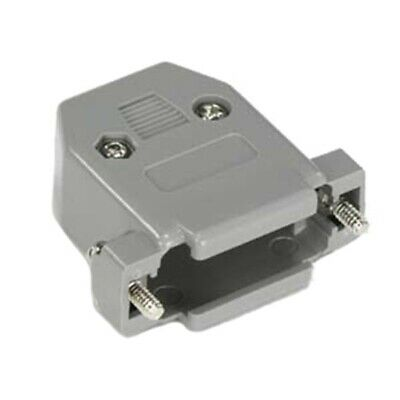 DB15 15-Pin Female Solder Cup Connector /& Plastic Hood Shell /& Hardware DB-15