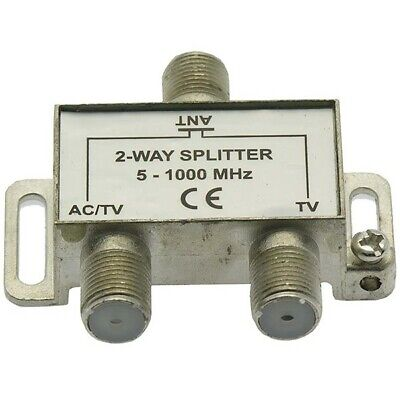 8 Way 54-1000Mhz MyCableMart Coax Splitter Powered Amplified
