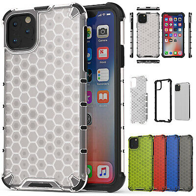 For iPhone 11 Pro Max XR 6S 7 8 Plus Hybrid Rubber Case TPU Bumper PC Hard Cover
