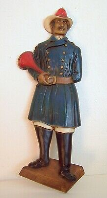 Vintage Fireman Wall Figure By Sexton – 1967 – Usa – Great Condition!