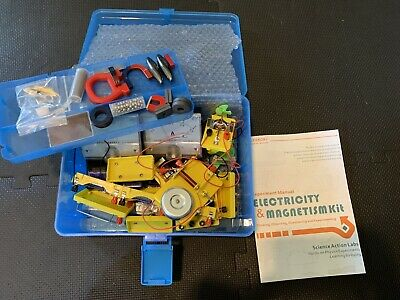 LERBOR STEM Physics Science Lab Basic Circuit Learning Kit Electricity Magnetism