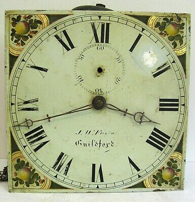 30 Hour Longcase Movement  - J W Foster of Guildford - Circa 1820.