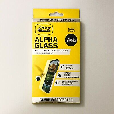 iPhone X Otter Box Alpha Glass Screen Protector