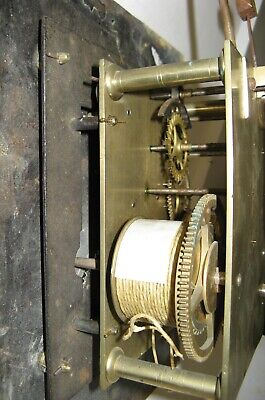 8 Day Longcase Dial & Movement for Restoration - Circa 1790.