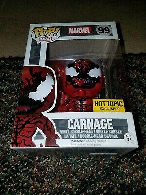 Funko Pop! Marvel Carnage Hot Topic Exclusive #99 Brand New Free Shipping!