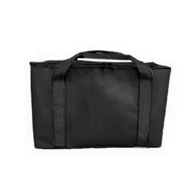 Carrying Delivery Bag Non-Woven Fabric Black Pizza Pies Insulated Useful