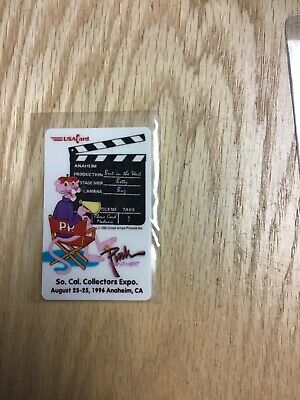 1996 So Cal Collectors Expo Pink Panther Phone Card Numbered 503/1000