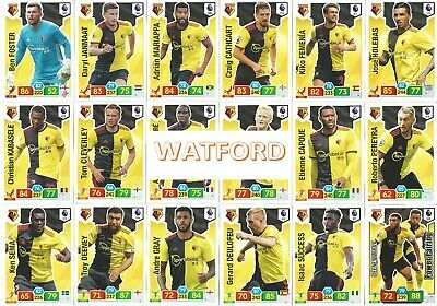 Panini Adrenalyn Xl Premier League 2019/20 - Team Set -  Watford F.c. (Pn01)