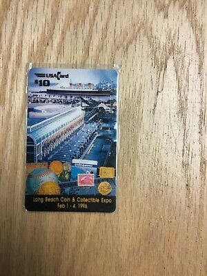 1996 Coin & Collectible Expo $10 Phone Card Numbered 291/500