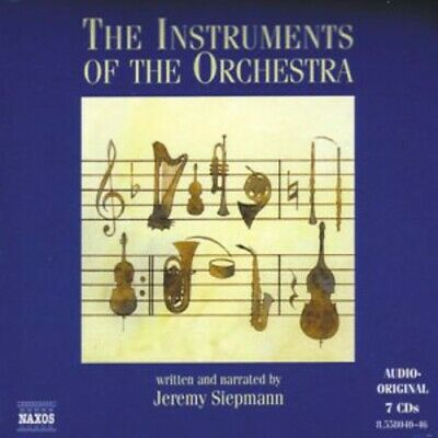 Instruments Of The Orchestra - Jeremy Siepmann (2014, CD NIEUW)7 DISC SET