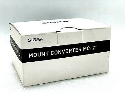 New SIGMA MC-21 SA-L Mount Converter Sigma SA-Mount Lens to Lumix S1 & S1R Body