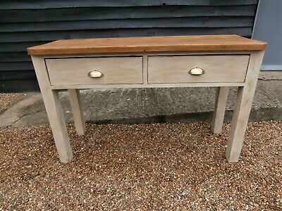 GENUINE 19th CENTURY PINE HALL CONSOLE TABLE DRESSER BASE WE CAN DELIVER