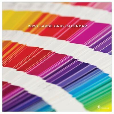 Big Grid - Color of the Day - 2020 WALL CALENDAR - BRAND NEW - 321073