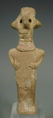 Fine RARE Syro-Hittite Pottery Figure of the Goddess Astarte circa 2000-1700 BC